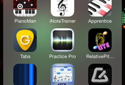 Musik lernen mit Apps