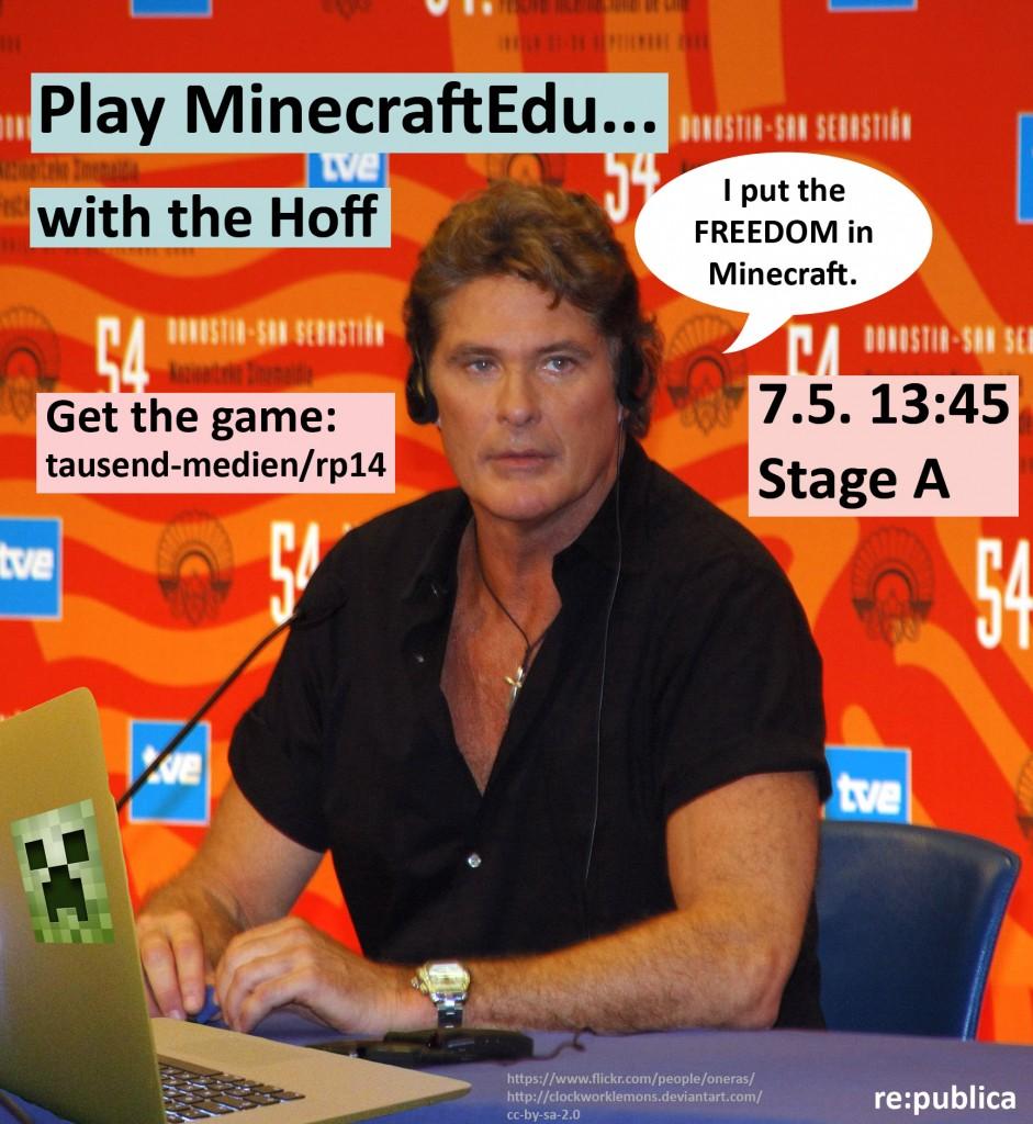 DavidHasselhoff_loves_MinecraftEdu