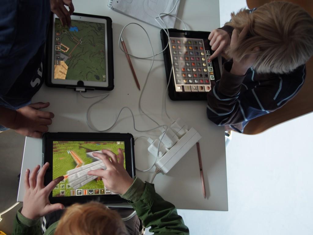 Versunken - Minecraft Workshop bei den Münchner Wissenschaftstagen