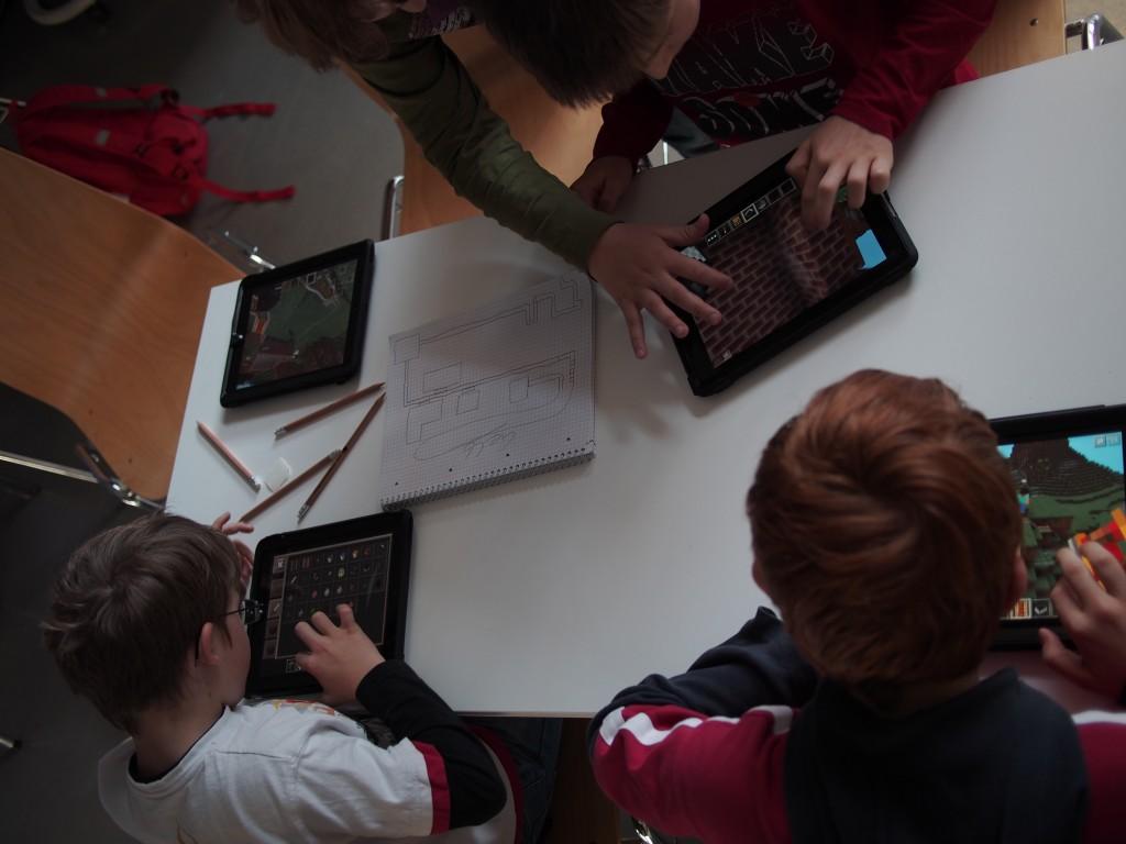Arbeit - Minecraft Workshop bei den Münchner Wissenschaftstagen