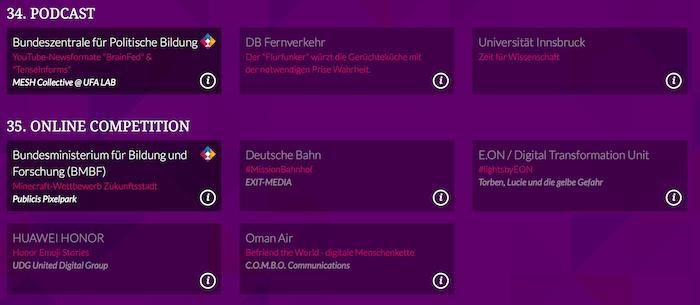 dpok- Deutscher Preis für Online Kommunikation