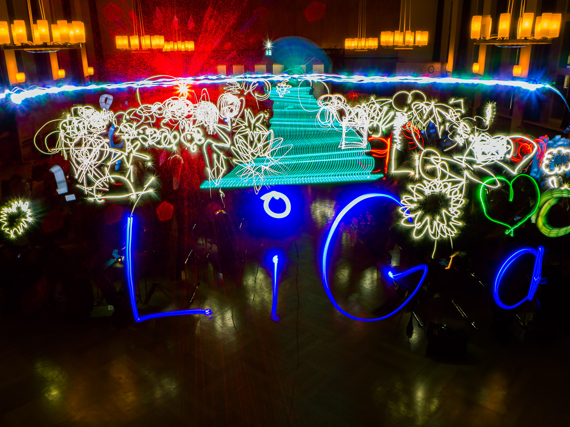 LiGa - Lernen im Ganztag - Lightpainting Ulrich Tausend (1000lights.de)