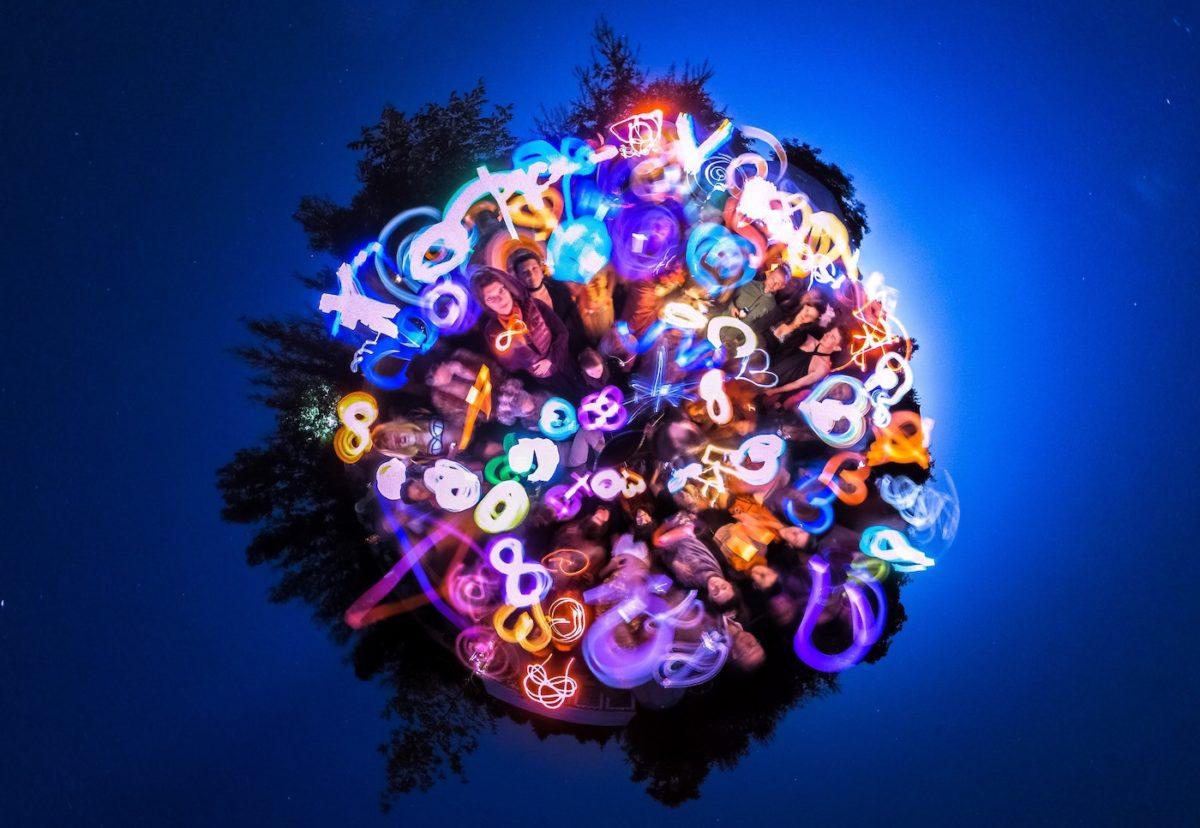 360 Grad, Lightpainting und Medienpädagogik
